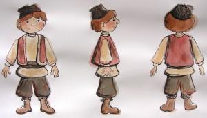 Boy Character Study